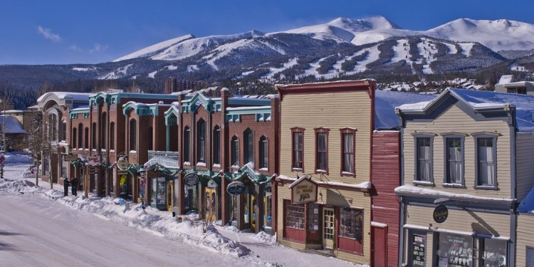 Breckenridge, Colorado is a