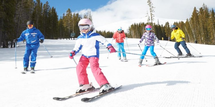 Child Lessons at Breckenridge
