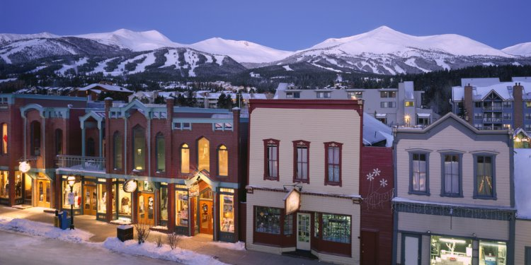 Breckenridge Main Street in