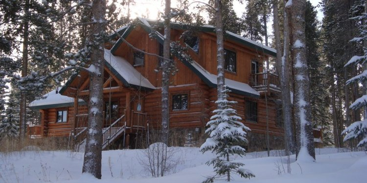 Bear Cabin in the winter!