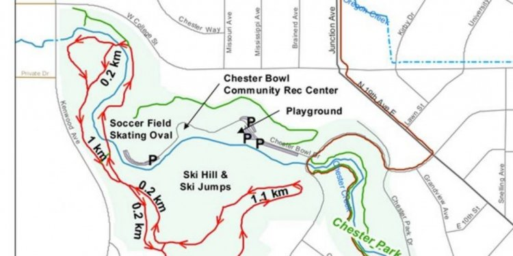 Breckenridge CO Trail Map