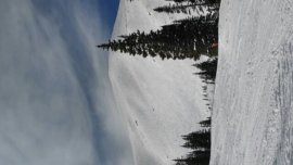 Breckenridge - So crowded today. Peak 7 was pretty fluffy early, no wind up top. - ©anonymous