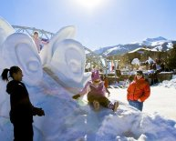 Snow Sculptures Breckenridge 2015